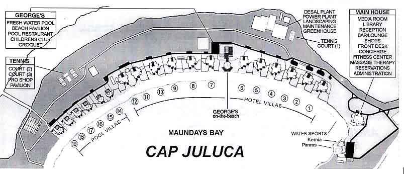 Resort Map Amp Floor Plans Cap Juluca Anguilla British