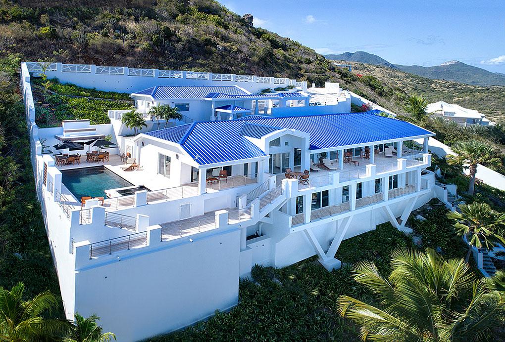 Villa Paradiso (6 bedr.) - Oyster Pond, St.Maarten