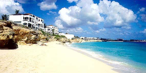 Cupecoy Beach St Maarten Bedroom Villa