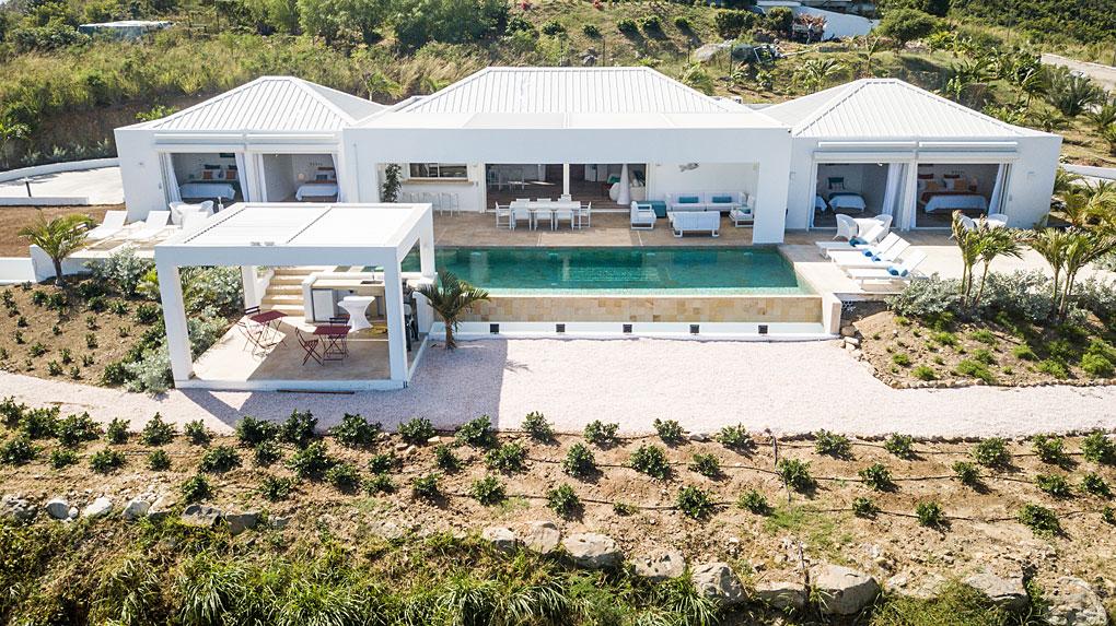 Albacore (4 bedr. villa) - Orient Bay, St. Martin